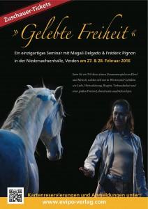 Gelebte Freiheit mit Frédéric Pignon und Magali Delgado in der Niedersachsenhalle in Verden