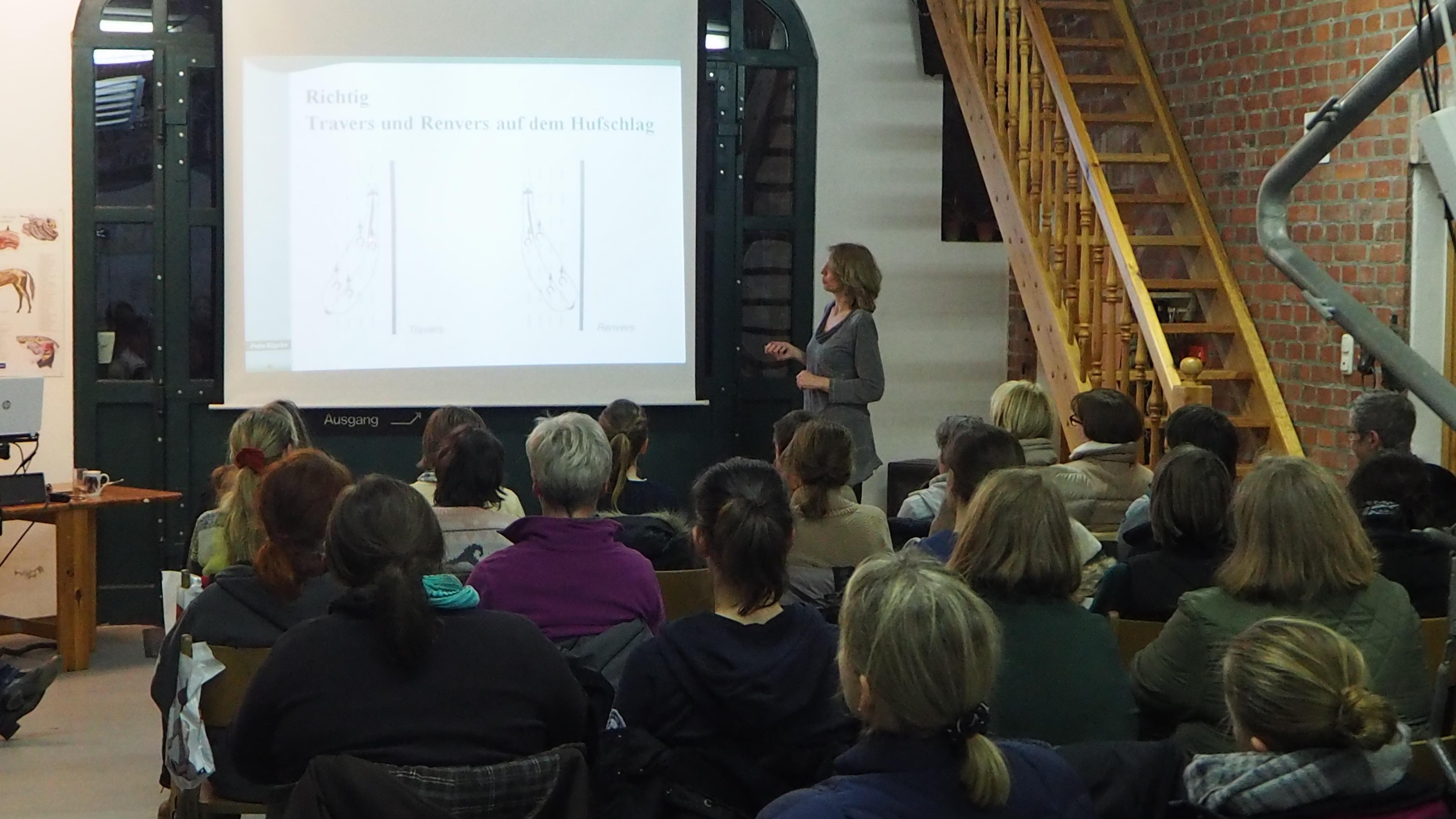 Renvers und Travers Vortrag Petra Köpcke Seitengänge