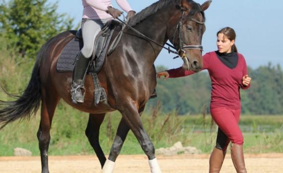 Sonja Kutter, Reitlehrerin und Pferde-Therapeutin - Josenhof Kutter