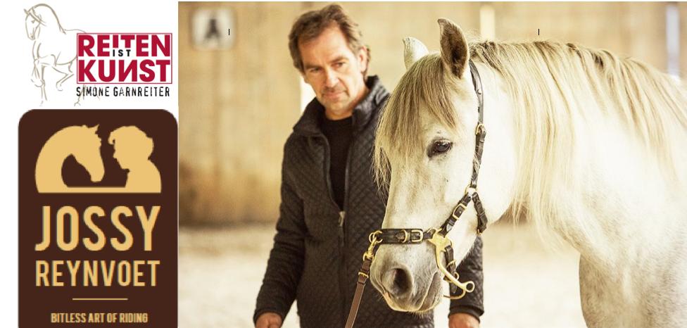 Jossy Reynvoet Horseman akademische Reitkunst bittless art of riding