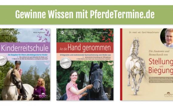 Gewinne Buch Kinderreitschule, Stellung und Biegung von Dr. Gerd Heuschmann, an die Hand genommen