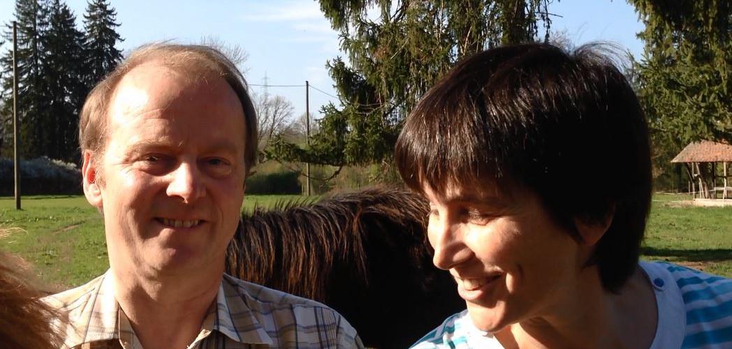 Dirk Winter und Birgit Jostes
