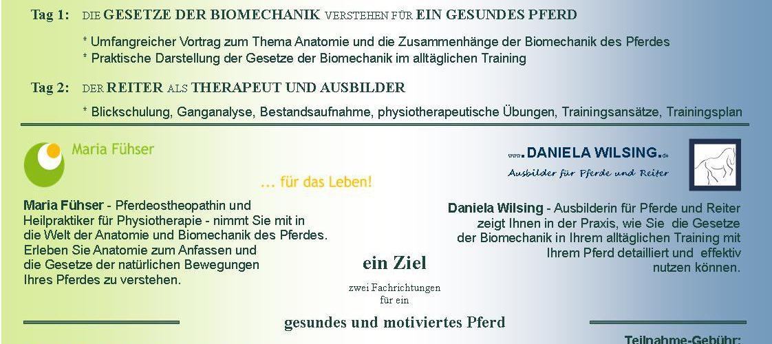 Die Gesetze der Biomechanik verstehen für ein gesundes Pferd ...