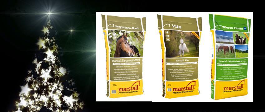 Adventskalender 2017 - Gewinne Pferdefutter von Marstall